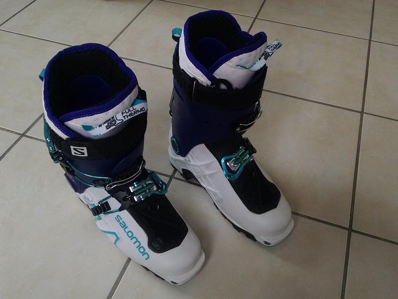 célèbre marque de designer vente chaude inégale en performance Chaussures ski de rando Salomon MTN Explore W - T 25 - Forum ...