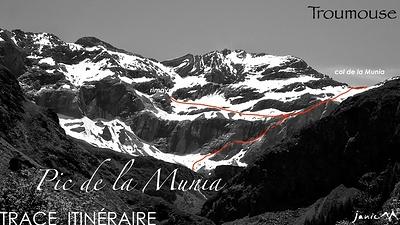 Rimaye Pag:Chap Col Munia Parcours