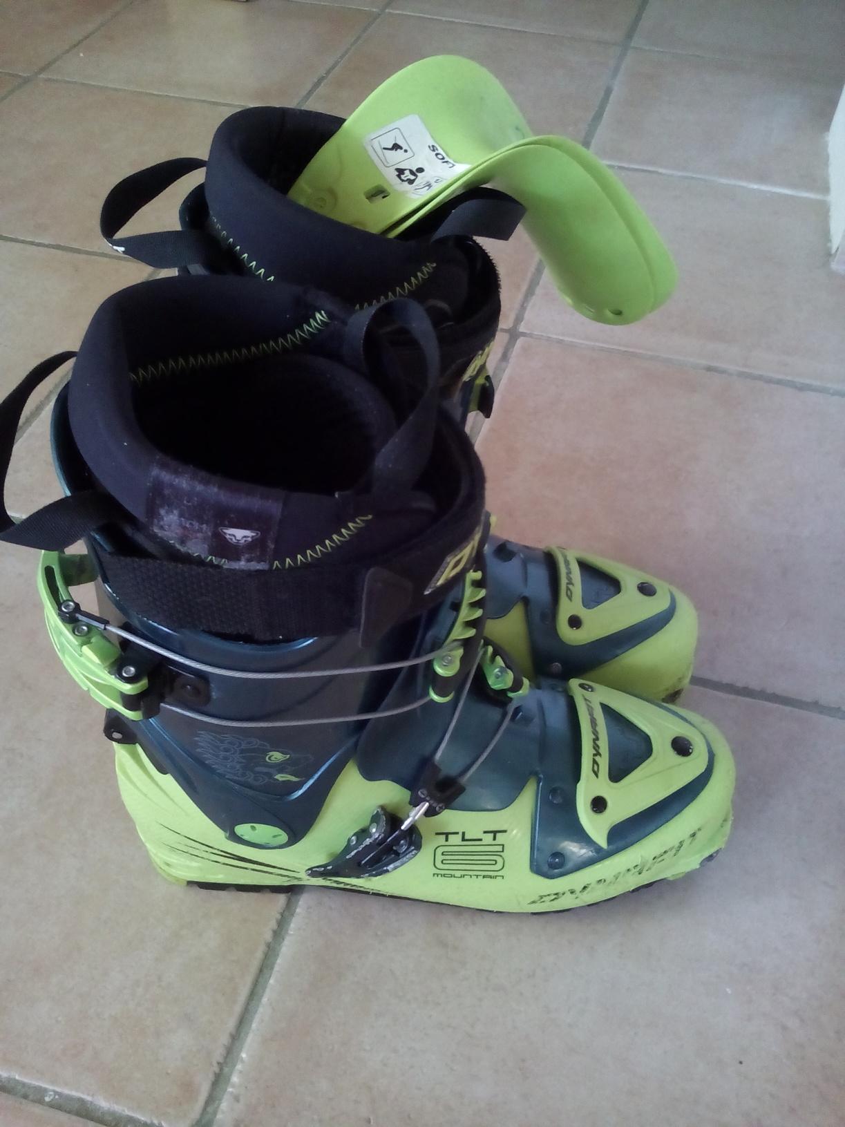 chaussures ski rando dynafit tlt 6 montain cl 44 28 5. Black Bedroom Furniture Sets. Home Design Ideas